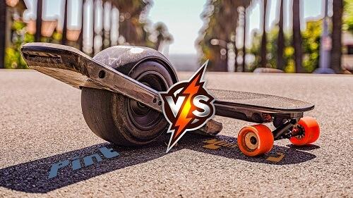 electric skateboard vs onewheel