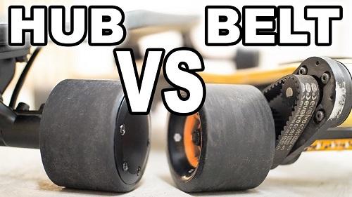 hub vs belt drive